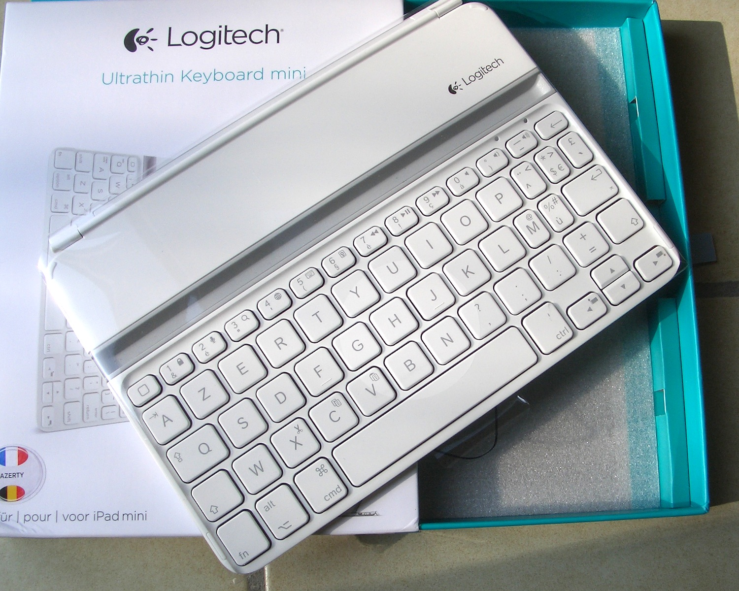 ipad air clavier logitech