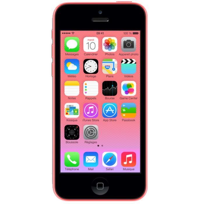 iphone 5c rose pas cher