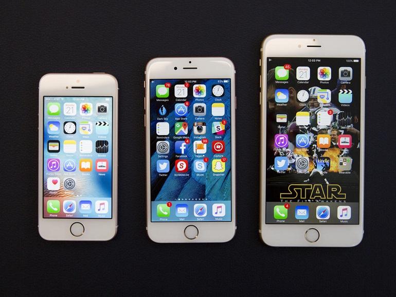 iphone se comparatif