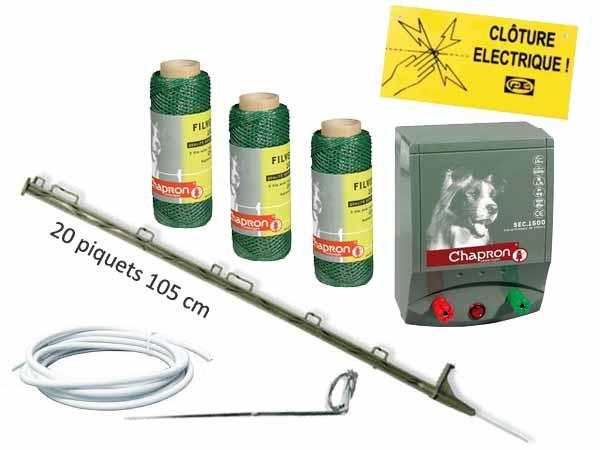kit cloture electrique pour chien