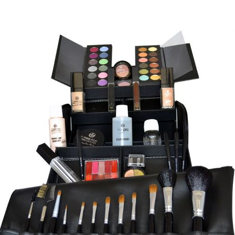 kit de maquillage professionnel