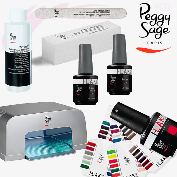kit ongle gel uv peggy sage