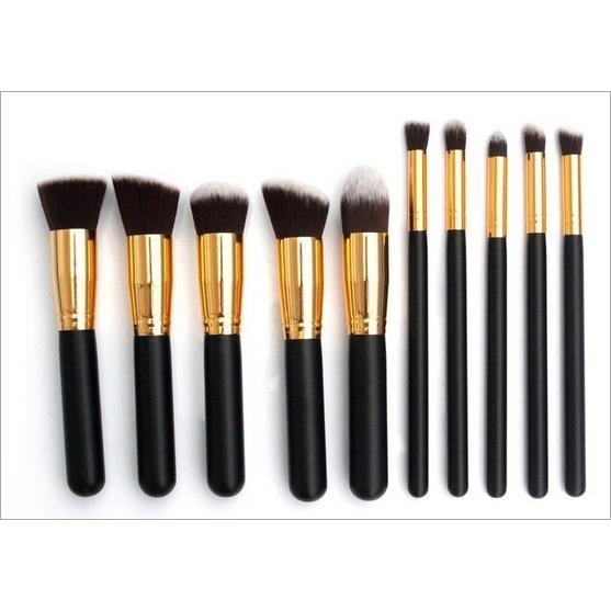 kit pinceaux maquillage professionnel pas cher