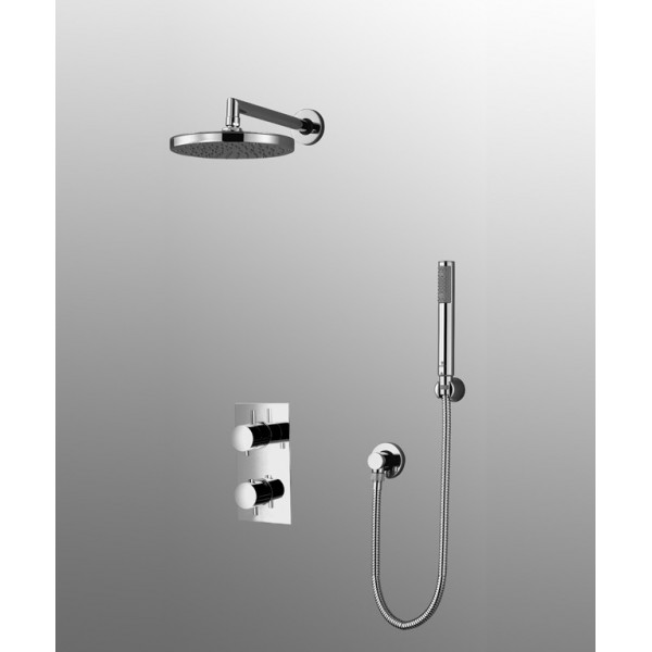 kit robinetterie douche encastrable