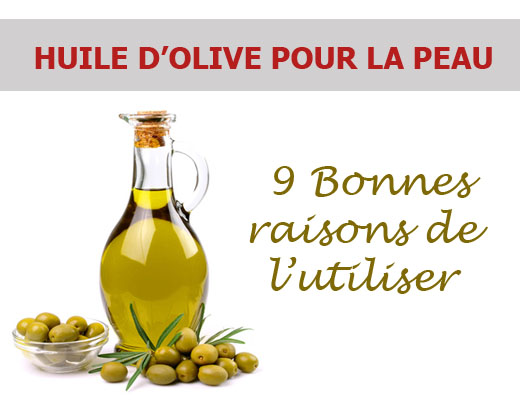 l huile d olive pour la peau