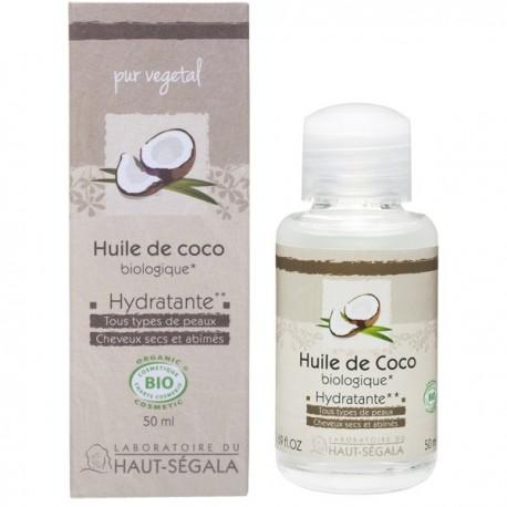 l huile de noix de coco pour les cheveux