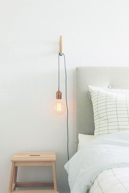 lampe de chevet a suspendre