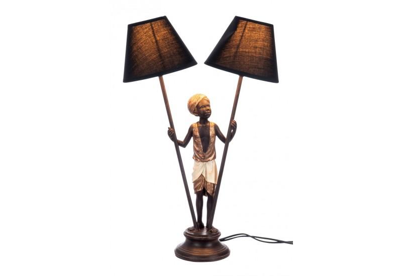 lampe de chevet africaine