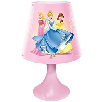 lampe de chevet princesse disney