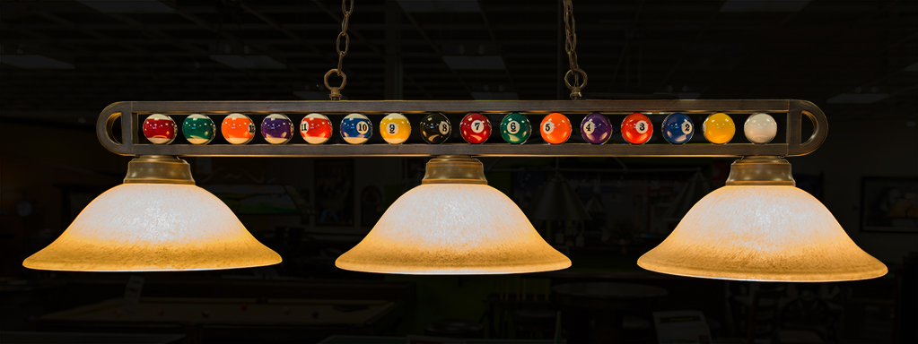lampe pour table de billard