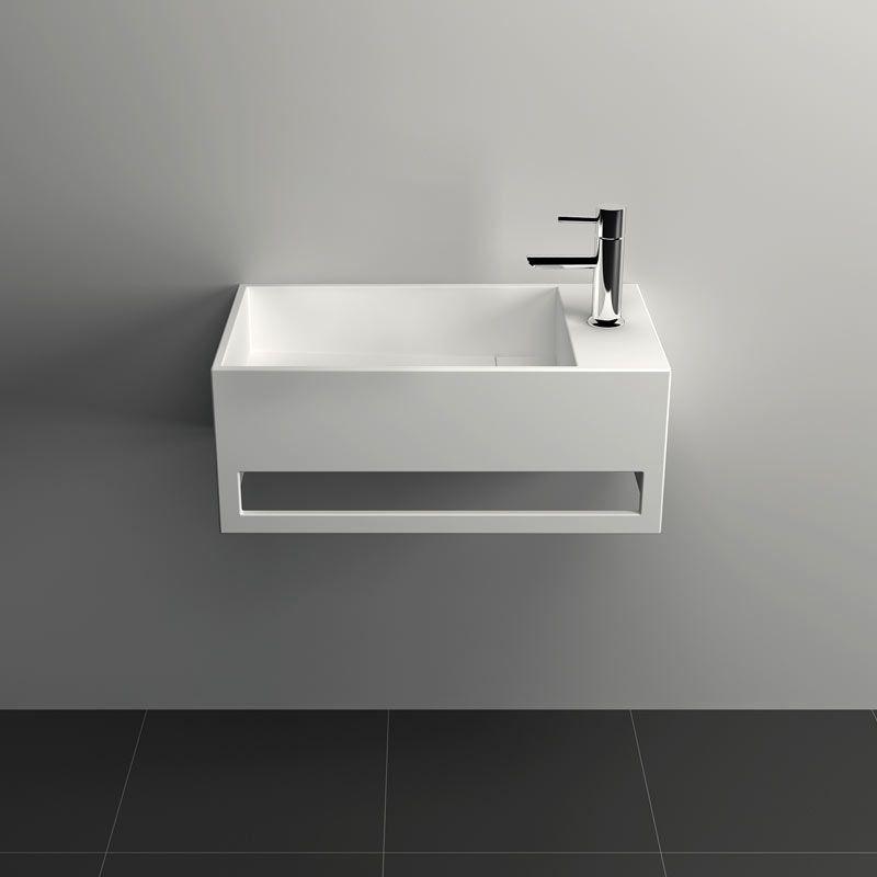 lave mains suspendu