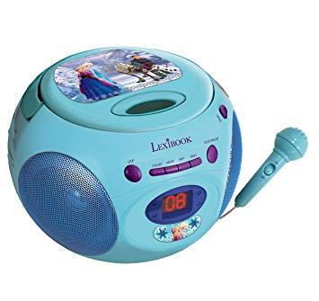 lecteur cd avec micro enfant
