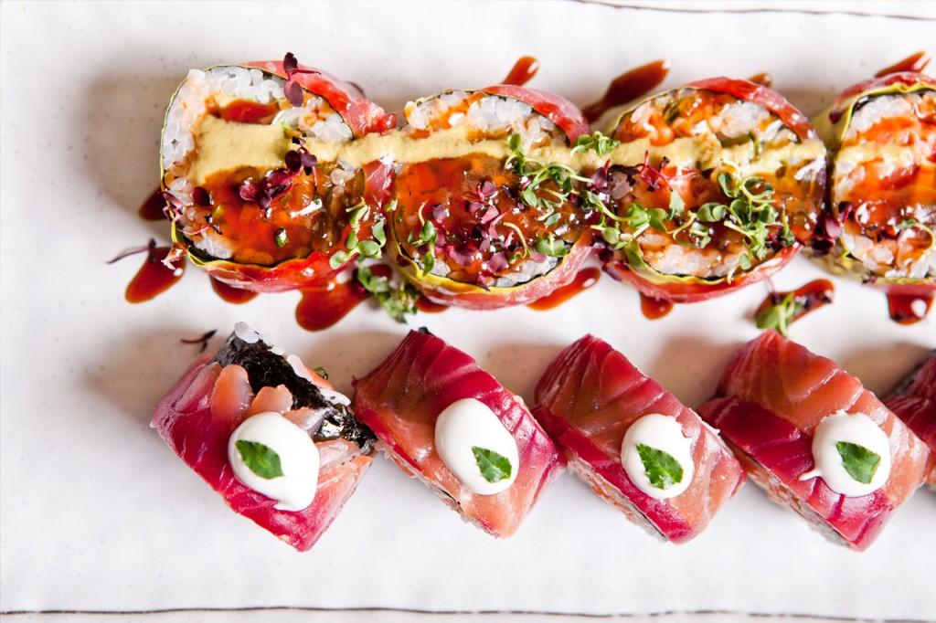 les meilleurs sushis