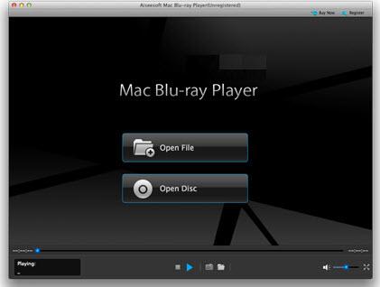 lire blu ray mac