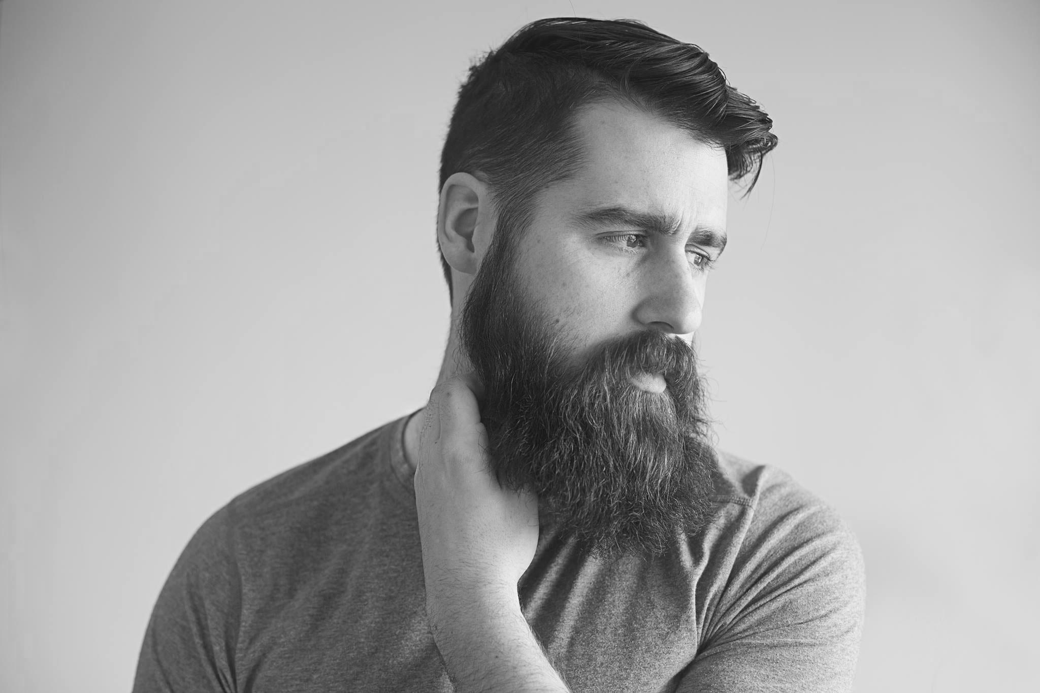 lisser barbe courte