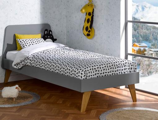 lit 90x200 avec sommier