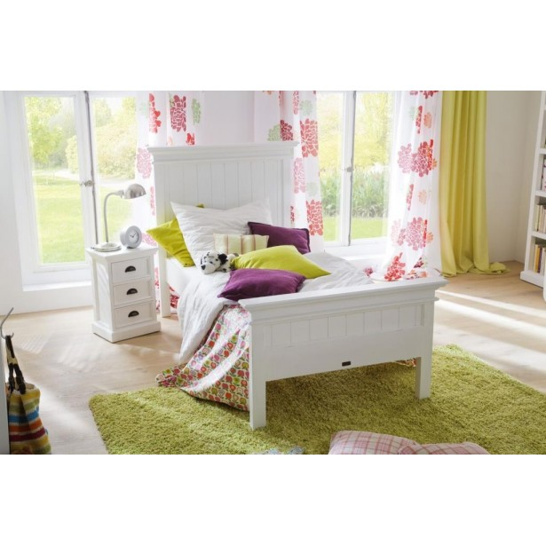 lit enfant bois blanc