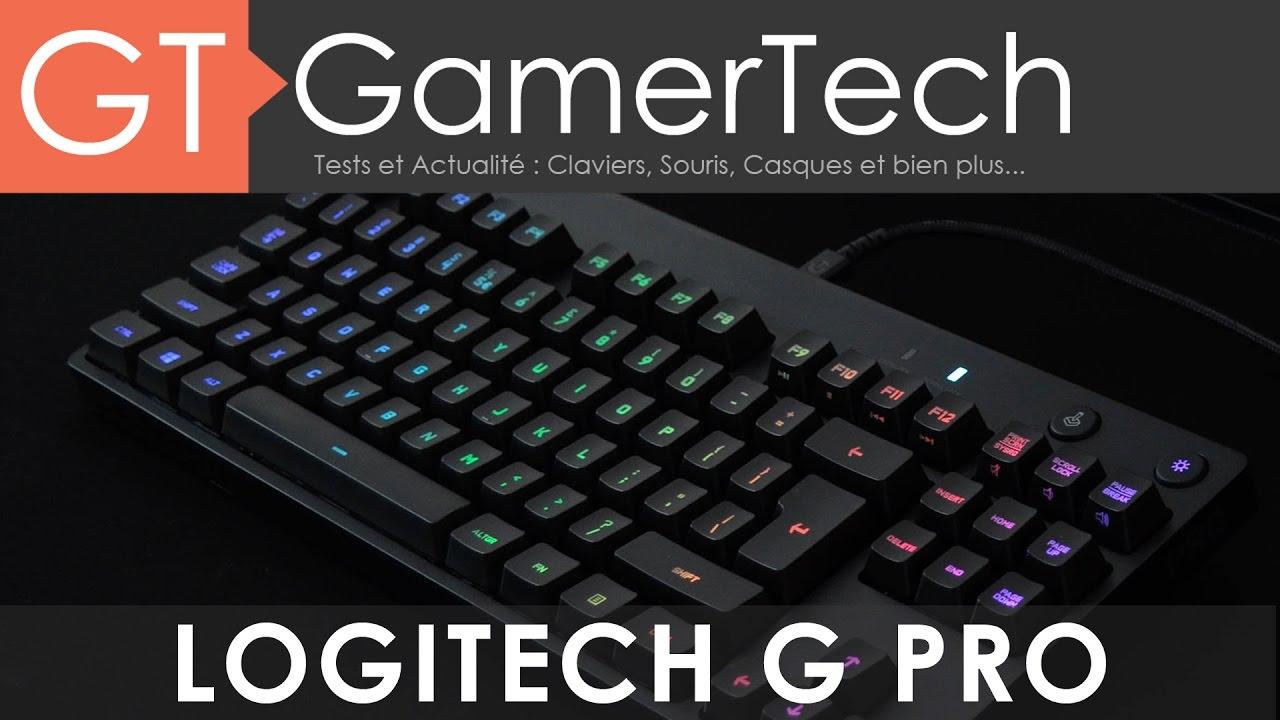 logitech g pro clavier