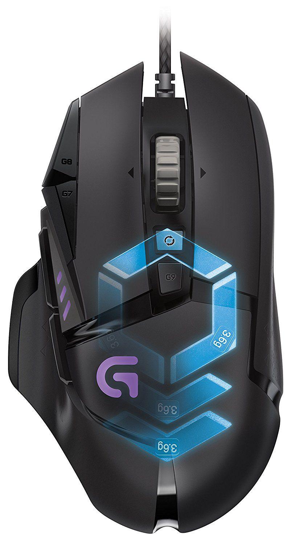 logitech g502 proteus core souris gaming noir