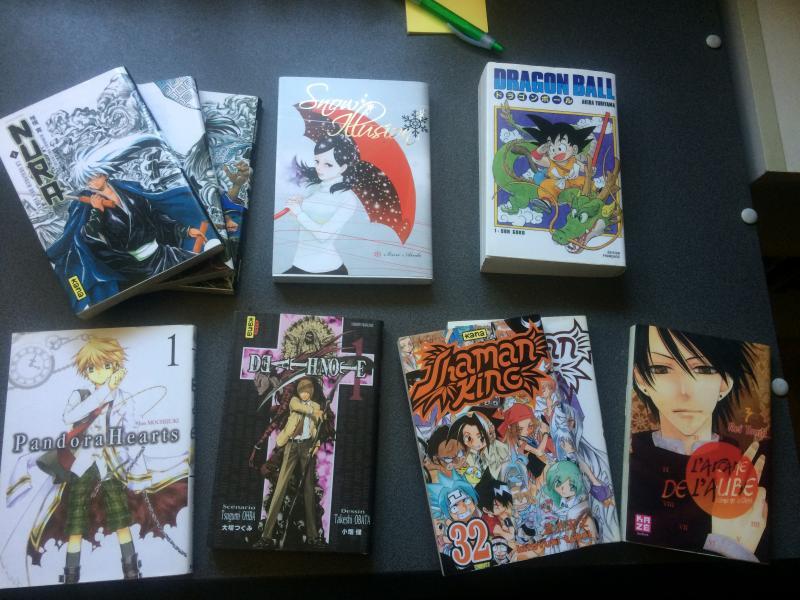 lot manga occasion