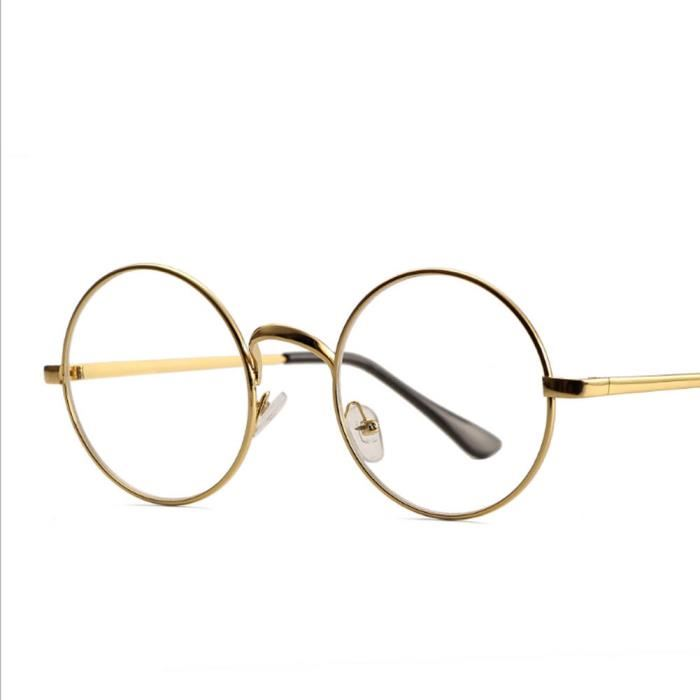 lunette ronde vintage homme