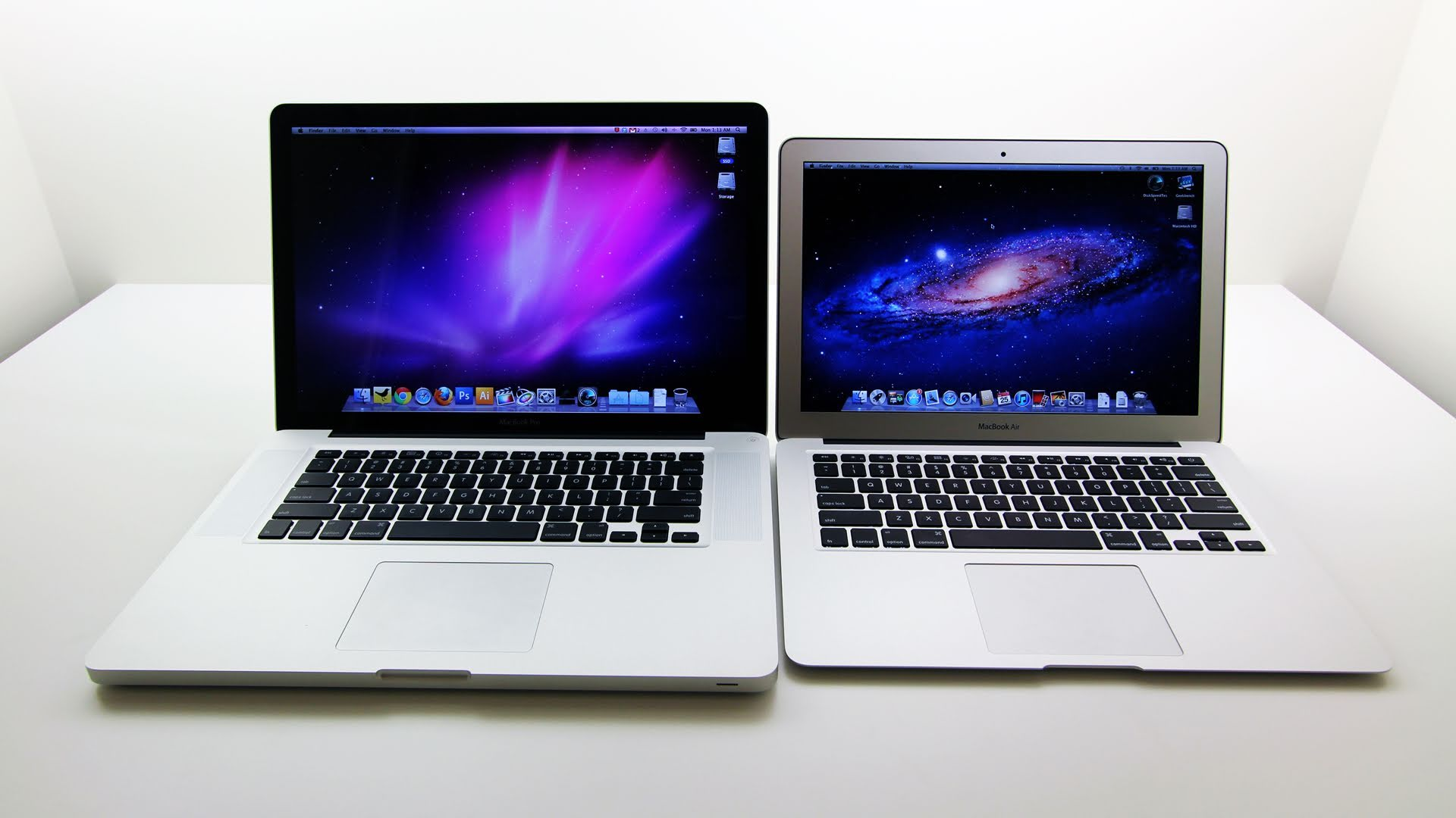 macbook air et macbook pro