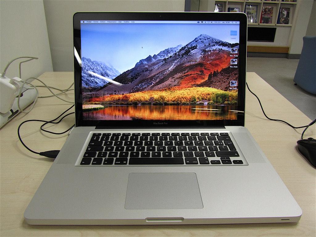 macbook pro 15 pouces mi 2012