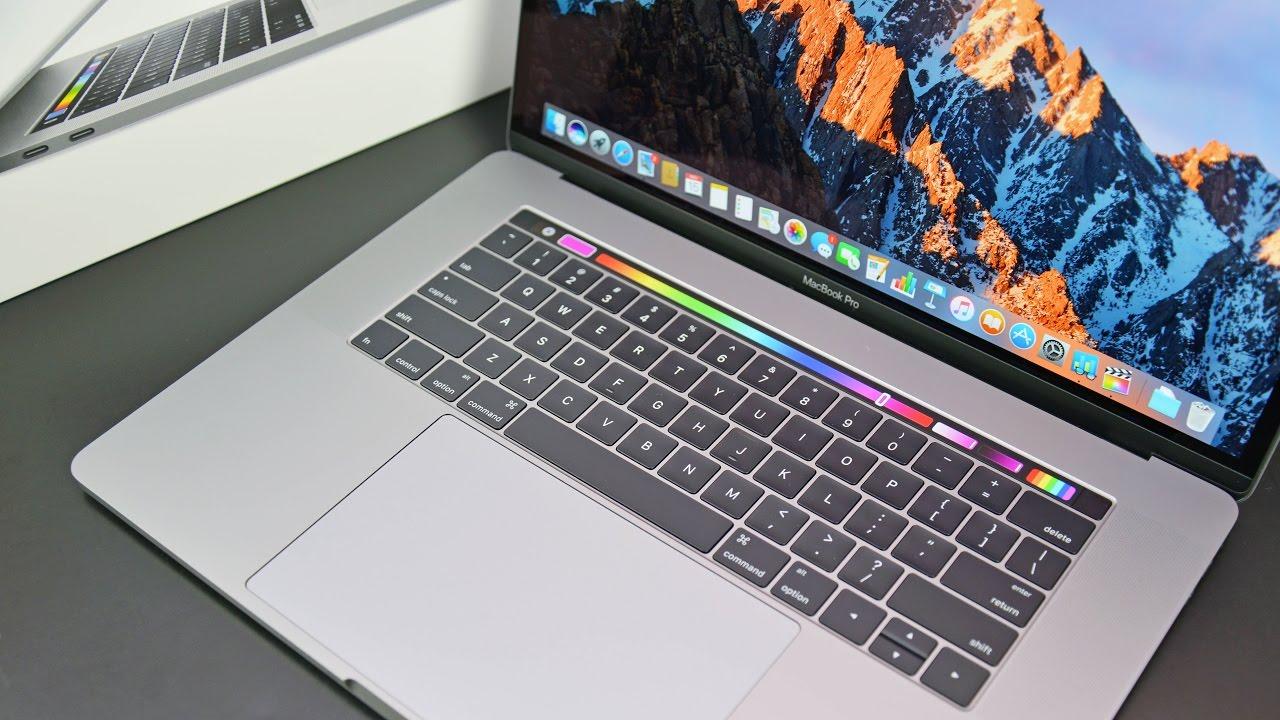 macbook pro 15 pouces touch bar