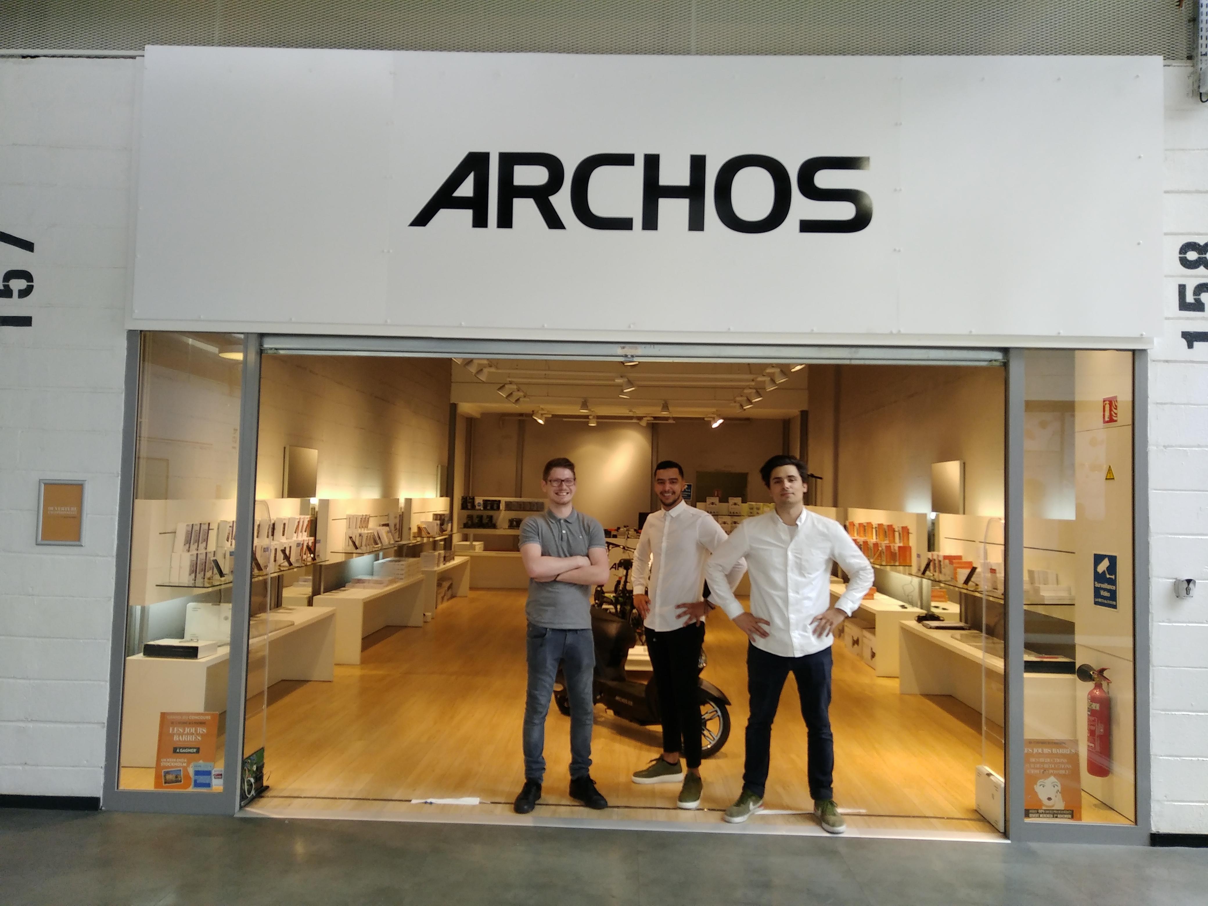 magasin archos
