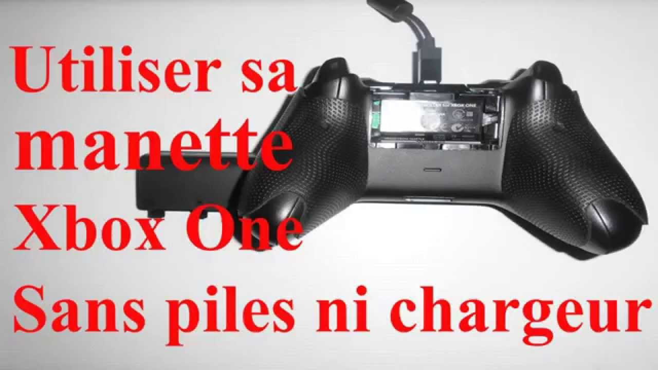 manette xbox one pile