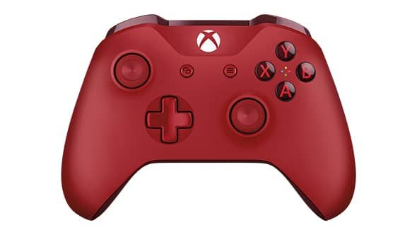 manette xbox one rouge