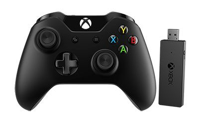 manette xbox one sur pc