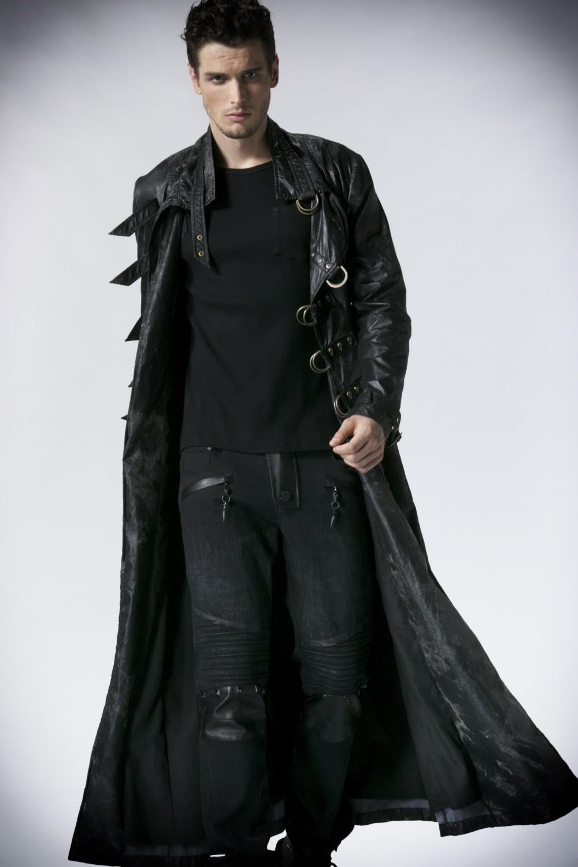 manteau gothique homme pas cher