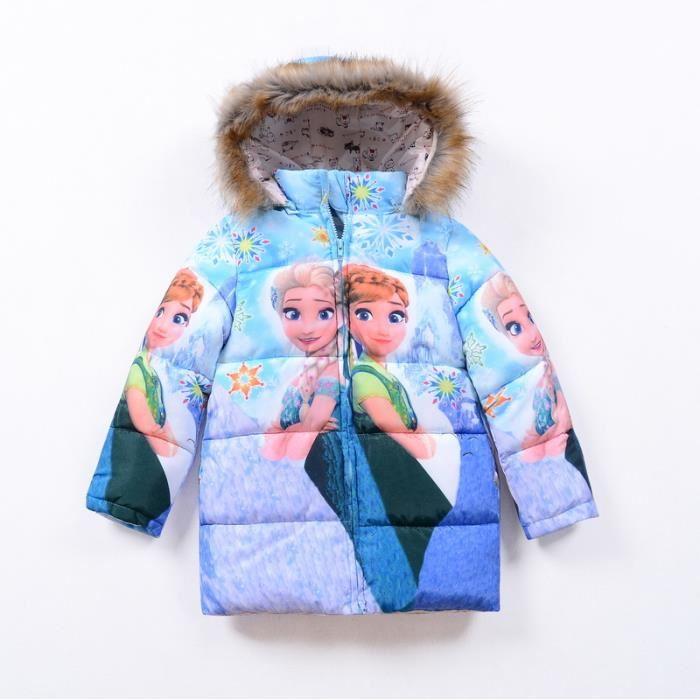 manteau reine des neiges
