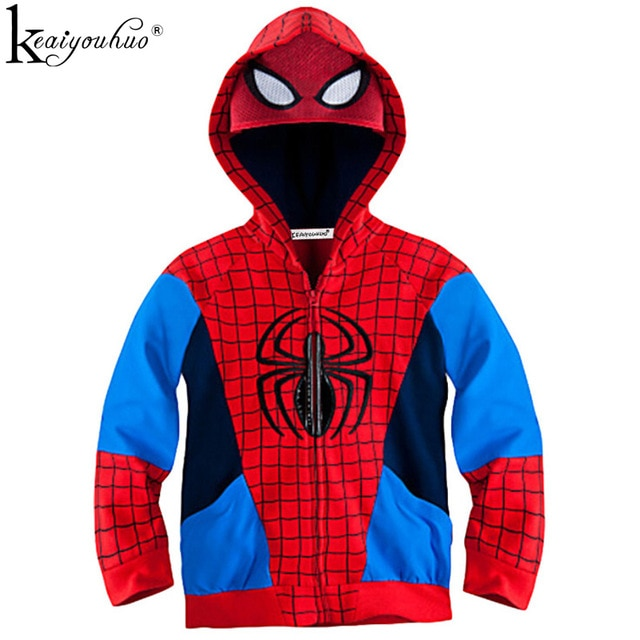 manteau spiderman