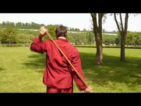 massage avec baton
