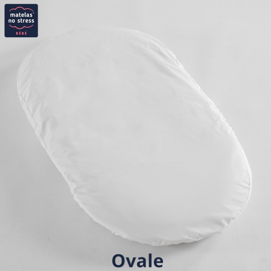 matelas berceau ovale 40x80