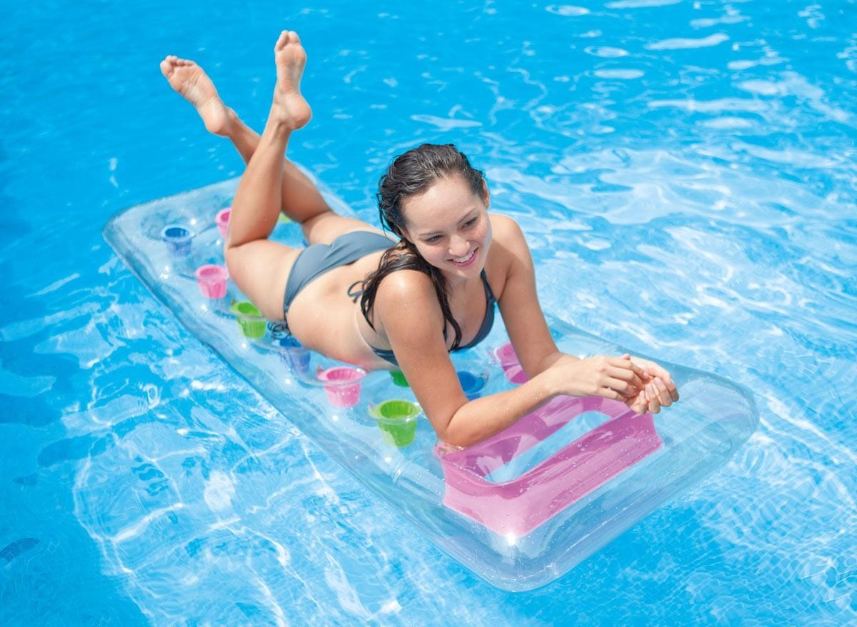 matelas de piscine gonflable