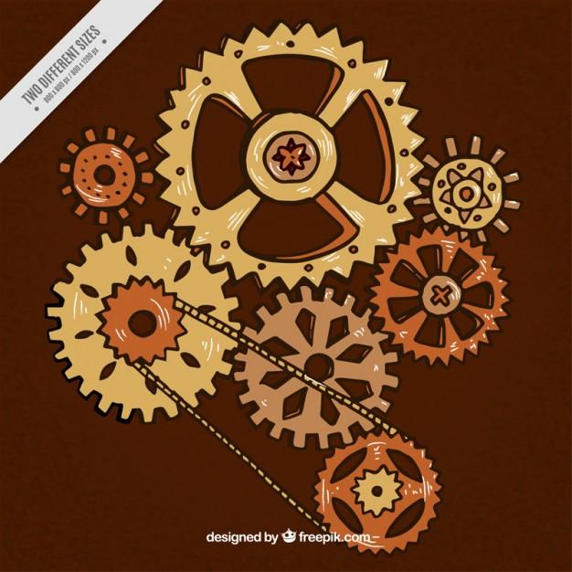mecanisme steampunk