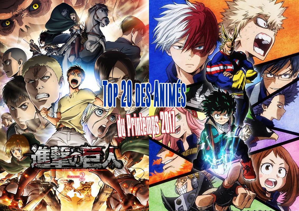 meilleur anime 2017