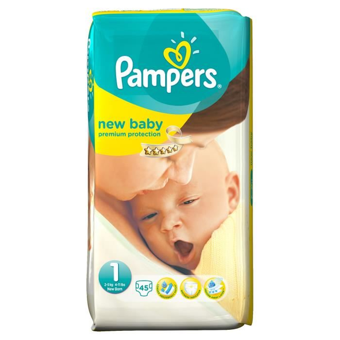 meilleur prix couches pampers