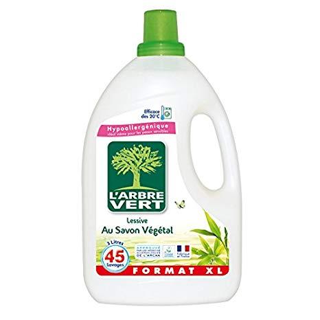 meilleure lessive liquide hypoallergénique