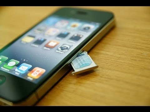 mettre carte sim dans iphone 4