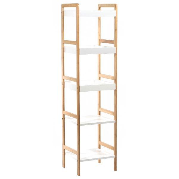 meuble etagere bambou