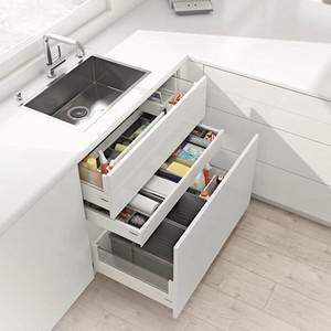 meuble sous evier avec tiroir