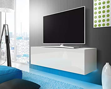meuble tv suspendu 140 cm