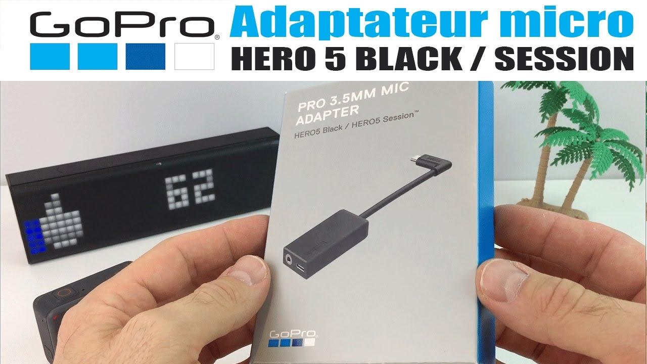 micro externe gopro hero 5