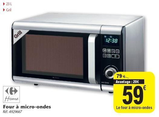 micro ondes promo