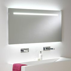 miroir retro eclaire salle bain