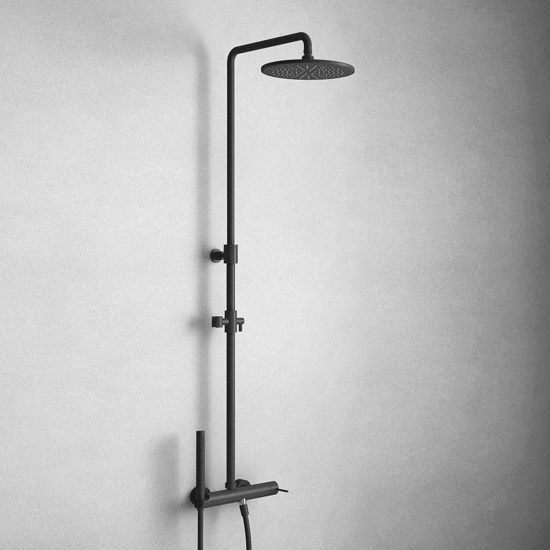 mitigeur douche noir